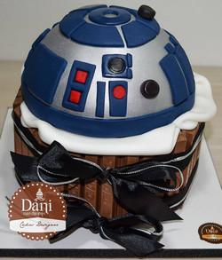 Bolo Kitkat Star Wars R2-D2