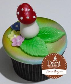 Cupcake Cogumelo
