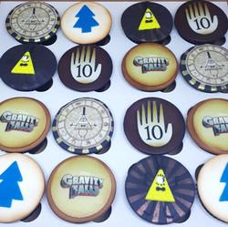 Cupcake Gravity Falls