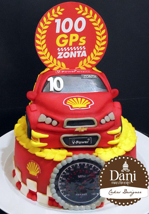 Bolo Equipe Shell Stock Car