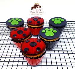 Cupcakes Lady Bug