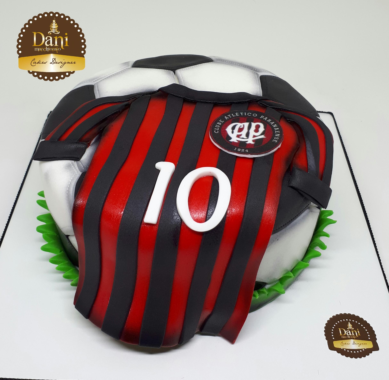 Bolo Bola com Camisa Atlético