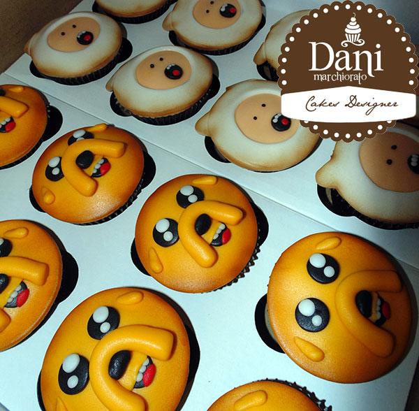 Cupcakes A Hora da Aventura