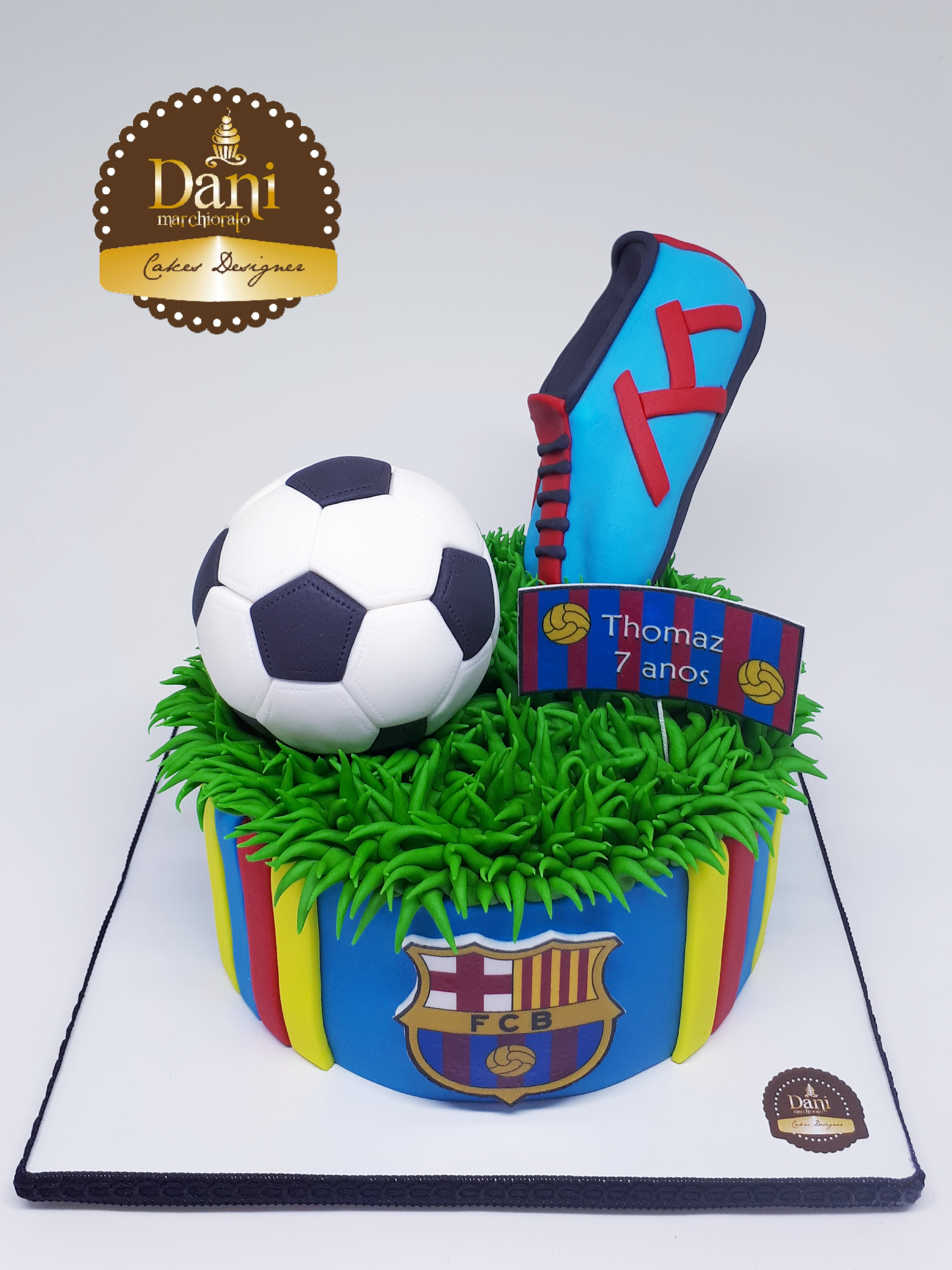 Bolo Futebol Barcelona