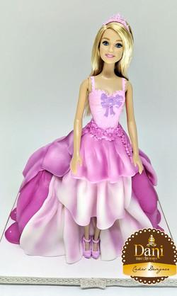 Bolo Princesa Barbie