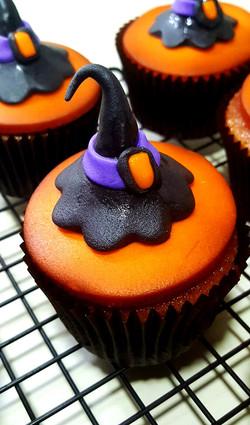 Cupcake Chapéu Bruxa