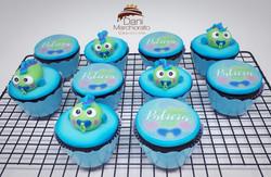 Cupcakes Peixinho Bebê