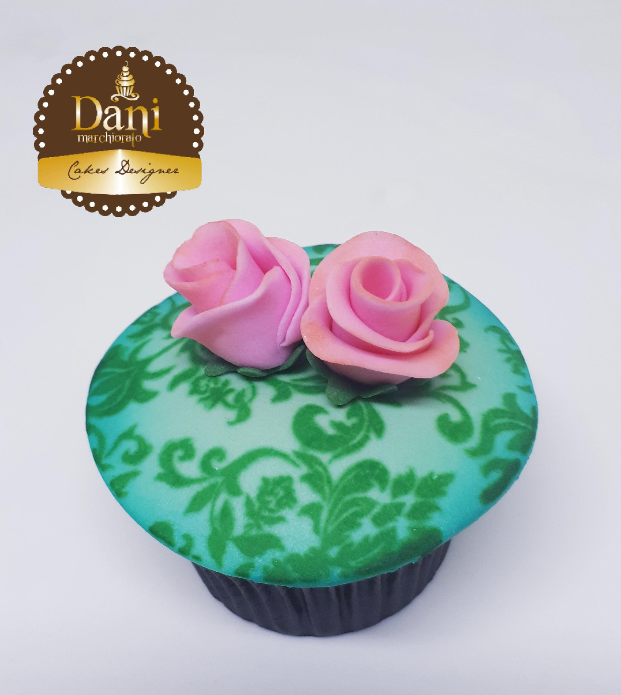 Cupcake Rosas