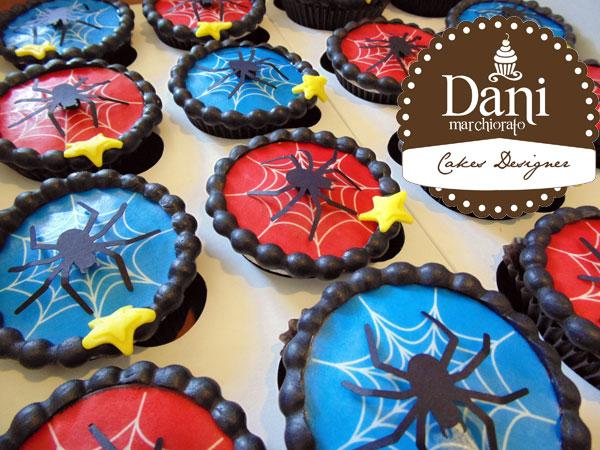 Cupcakes Aranha