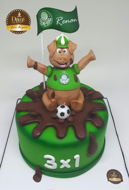 Bolo Porquinho Palmeiras