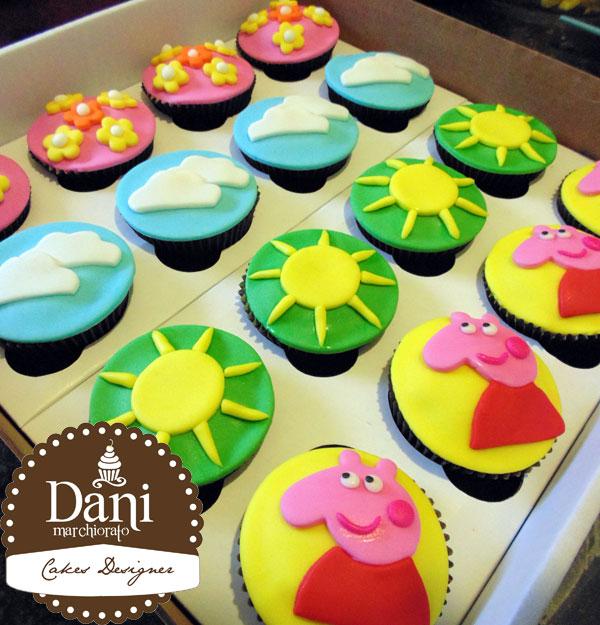 Cupcakes Peppa