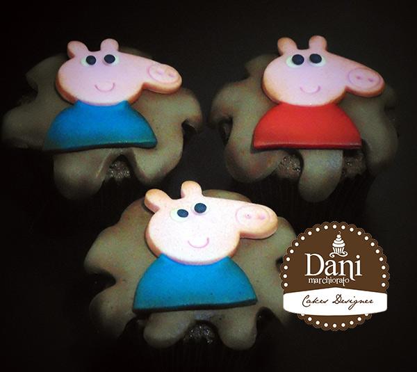 Cupcakes Peppa e George