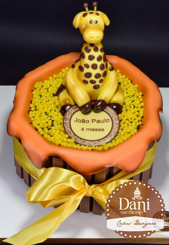 Bolo Girafa