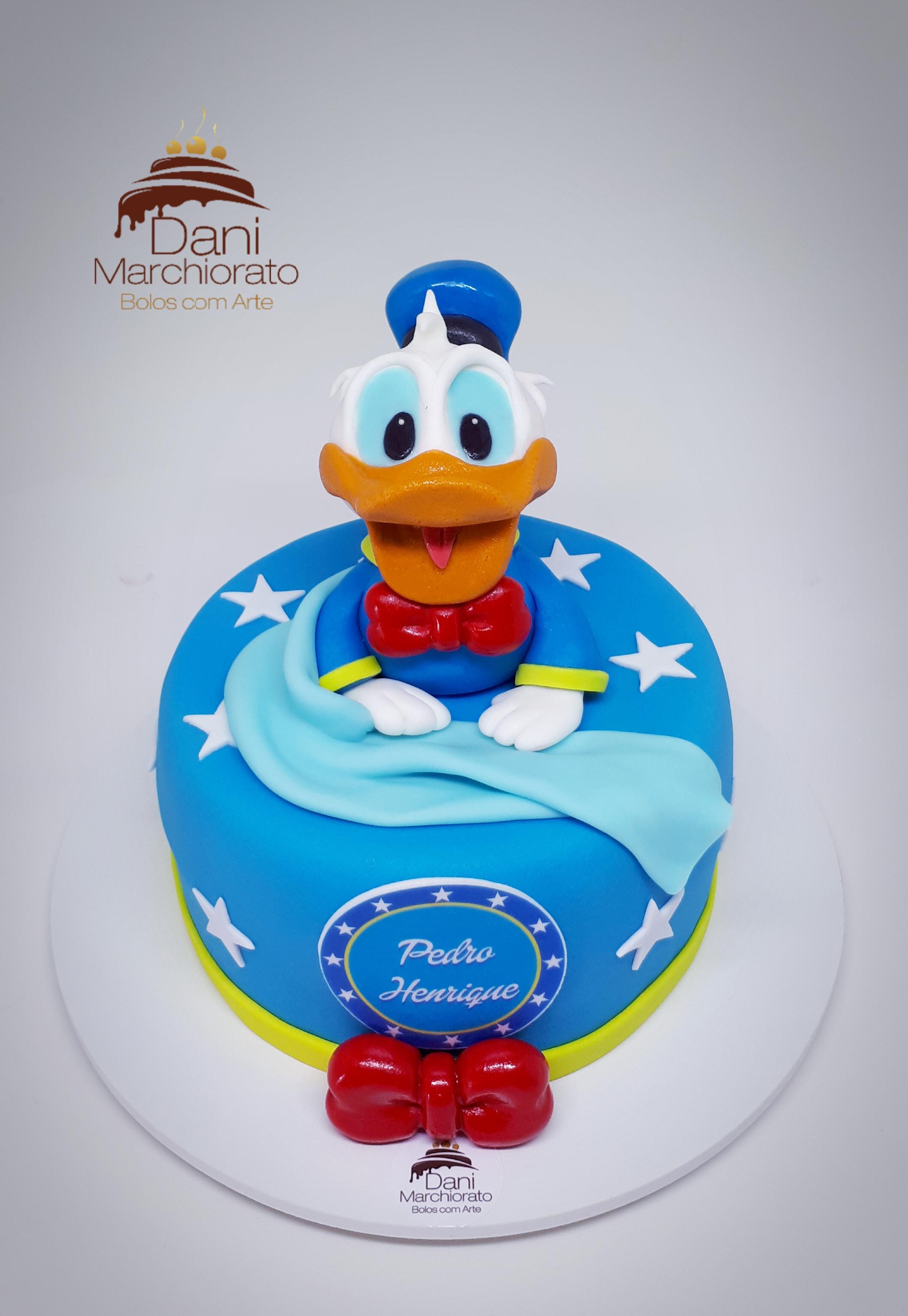 Bolo Pato Donald