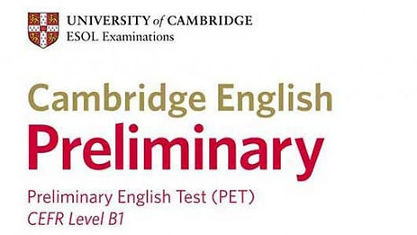 Exámenes de Cambridge PET B1 en Orihuela