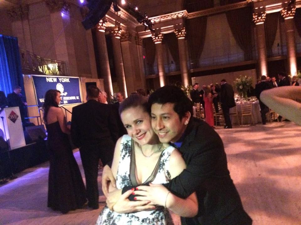 Me and Robbie, Cipriani's April 2015