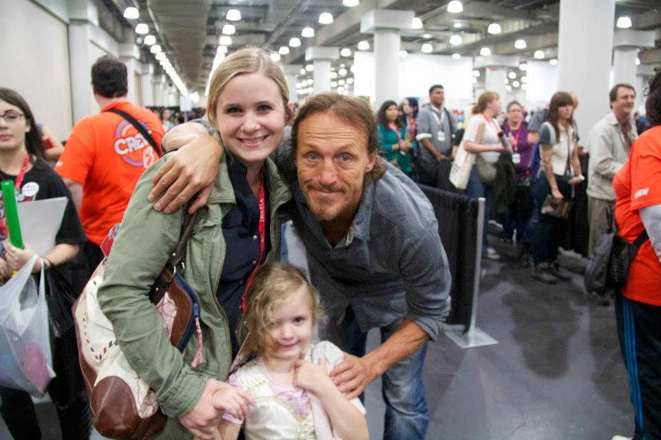 Meeting Jerome Flynn at Comic Con NYC!