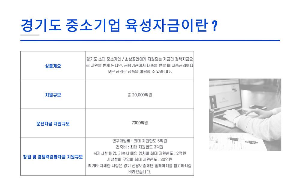 경기도 중소기업 육성자금이란 ?
