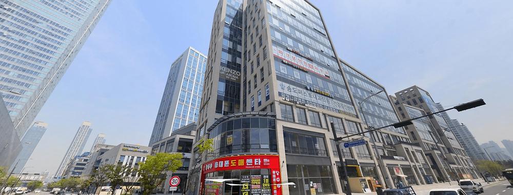 인천 송도동 겐죠스웨디시 건물 외관 로드뷰