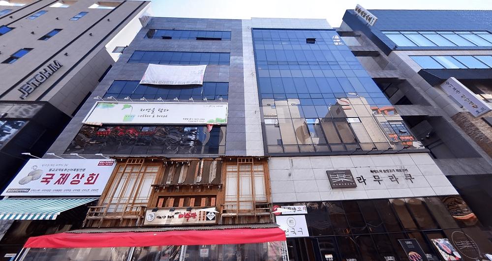 천안 불당동 봄날테라피 건물 외관 로드뷰