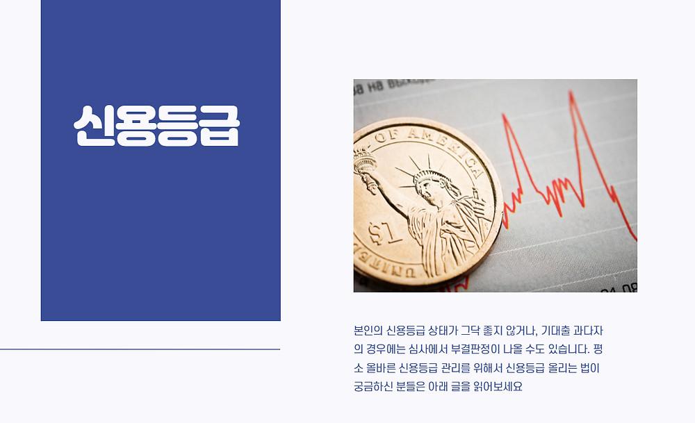 신한은행 전월세대출 신용등급