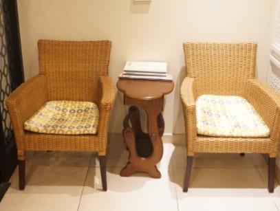청주 문스웨디시 의자