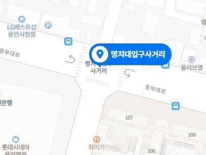 용인 율테라피 지도