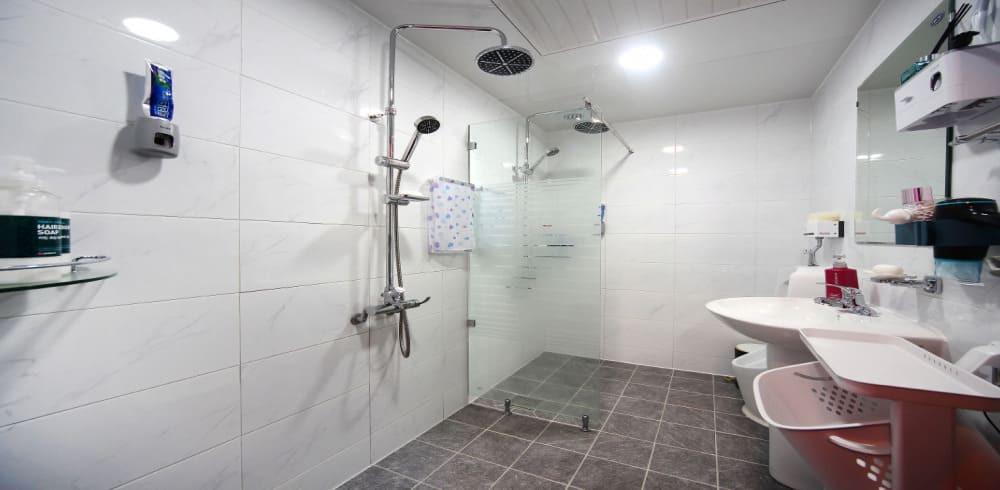 평택 고덕면 탑아로마 샤워실
