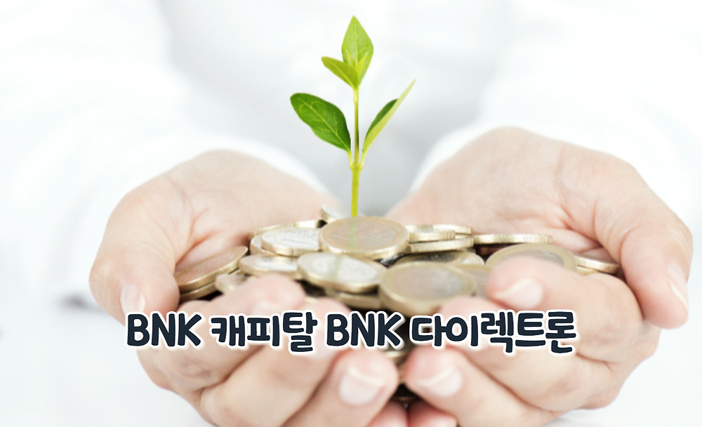 BNK 캐피탈 BNK 다이렉트론