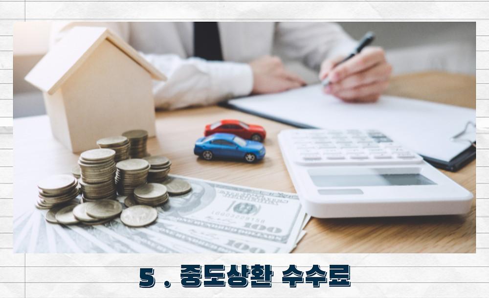 우리은행 비상금대출 중도상환 수수료
