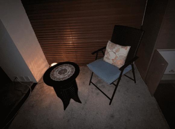 청주 1인샵마사지 탁자