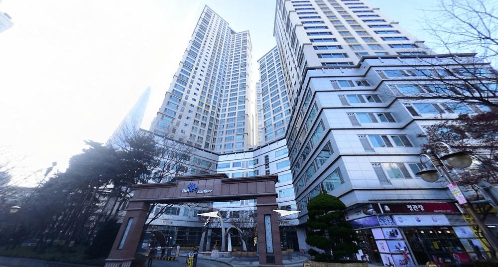 송파 잠실나루역 더샵스웨디시 건물외관
