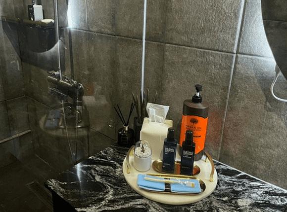 청주 1인샵마사지 샤워용품