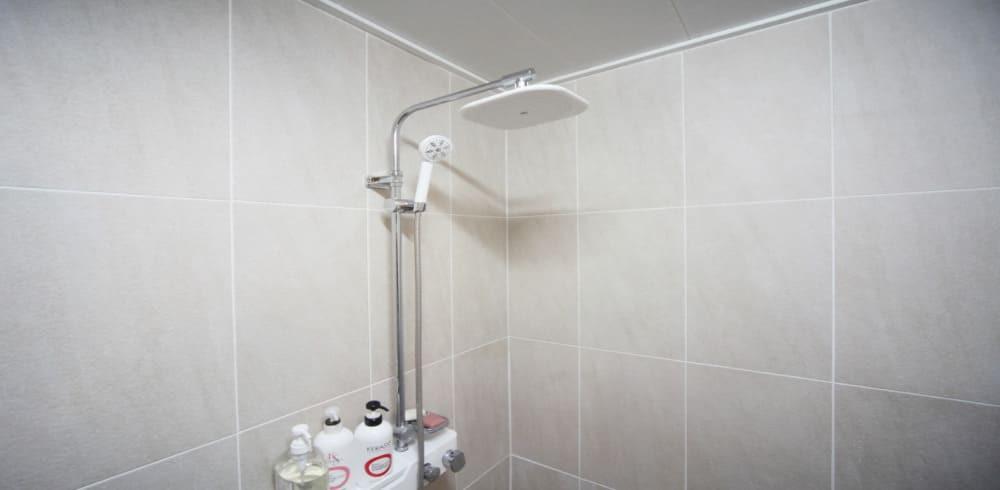 부천 상동역 더베이스웨디시 샤워실