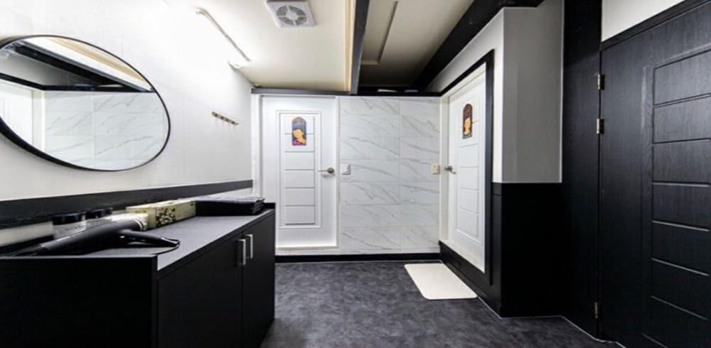 부천 상동 제로스웨디시 화장실