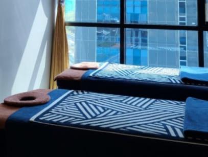 강남 스파드지 테라피 침대