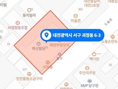 대전 몽스파 지도