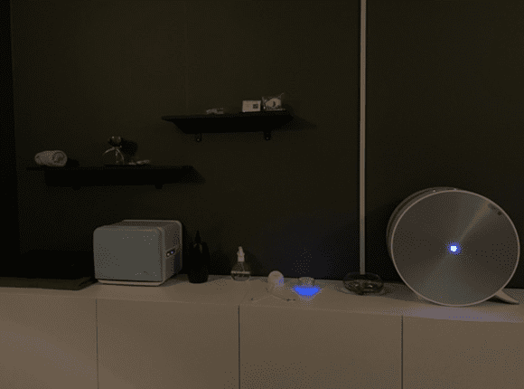 상동 1인샵 마사지 공기청정기