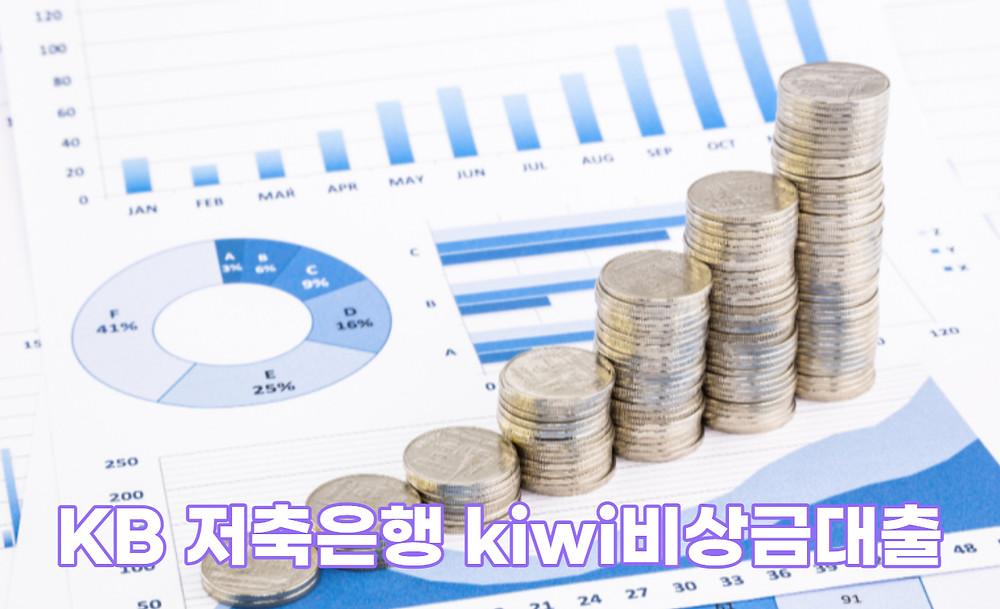 KB 저축은행 kiwi비상금대출