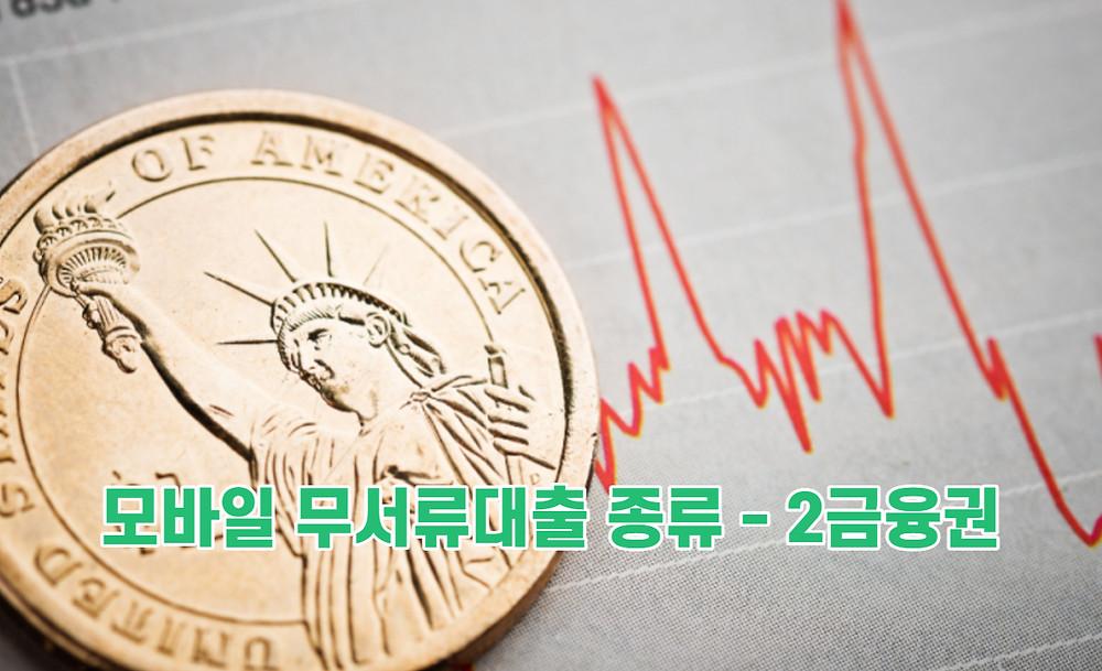 모바일 무서류대출 종류 - 2금융권