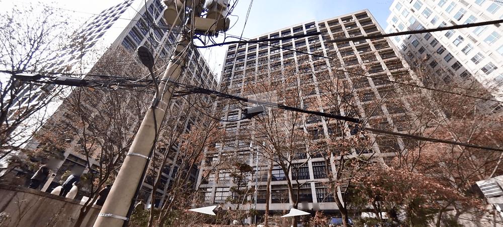 종로 광화문역 미스터스파 건물 로드뷰