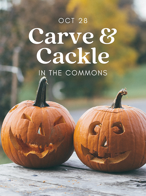Carve & Cackle in the Commons