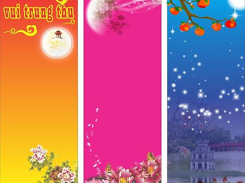 Banner Băng Rôn Trung Thu Vector Corel CDR 142