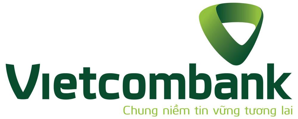 Logo Vietcombank có slogan