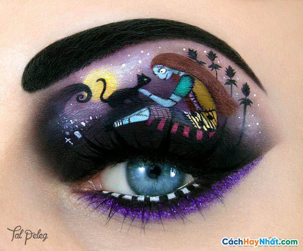 Ý tưởng trang điểm mắt nghệ thuật