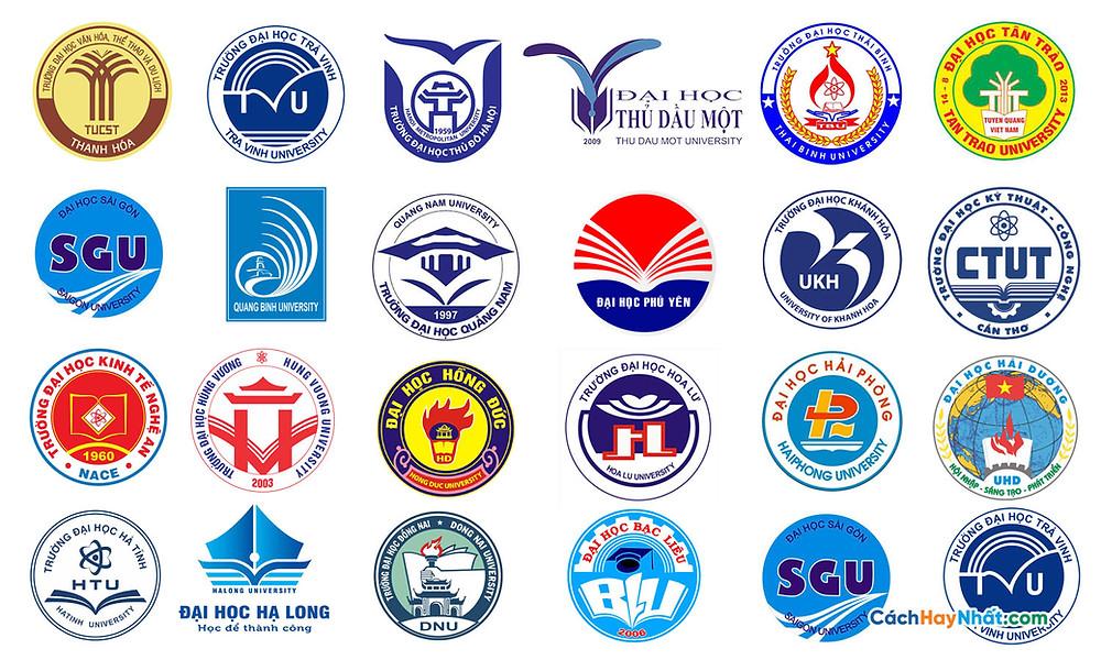 Tổng Hợp Logo Đại Học Chuyên Ngành Và Đa Ngành