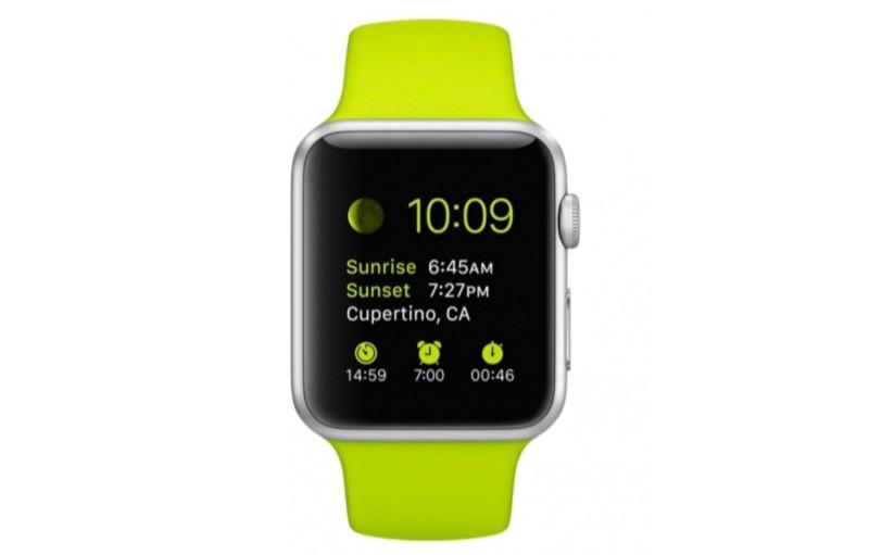 Font San Francisco trên Apple Watch