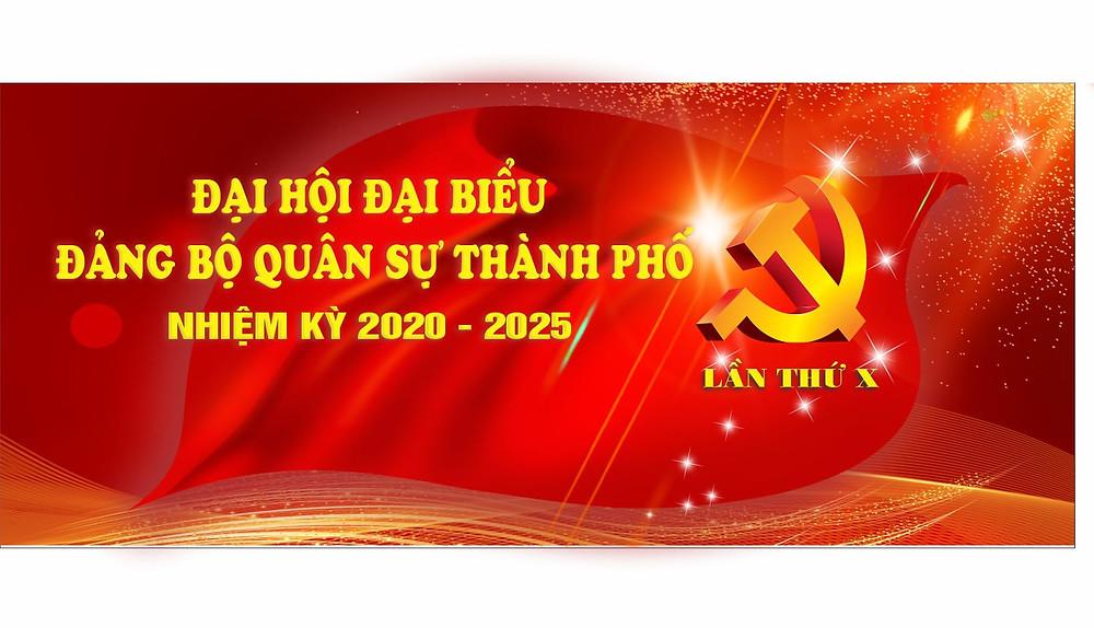 Vector Đại Hội Đảng Mẫu Pano Trang Trí