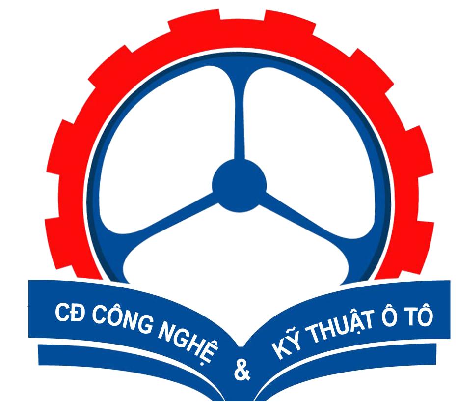 Logo Trường Cao đẳng Công nghệ và Kỹ thuật Ô tô