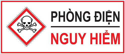 Dangerous Electric Prevention Vector - Phòng Điện Nguy Hiểm